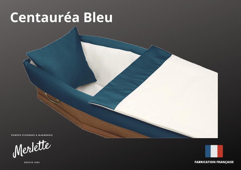 Capiton Centauréa Bleu
