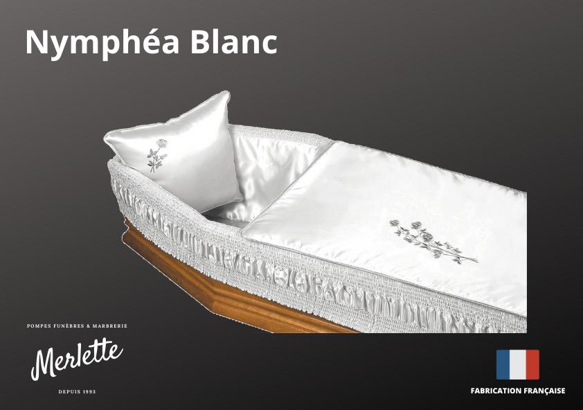 Capiton Nymphéa Blanc